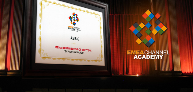 "ASBIS named ""Distributor of the Year"" at ""ECA: 2016 Awards"""