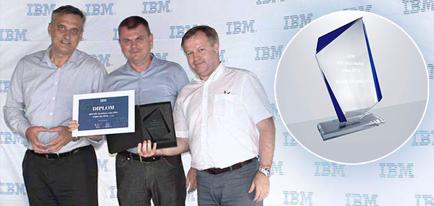 "ASBIS Slovakia receives ""IBM HW Distributor of the Year 2016"" award"