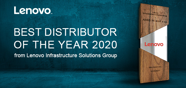 ASBIS received Best Distributor of 2020 Award from Lenovo Infrastructure Solutions Group