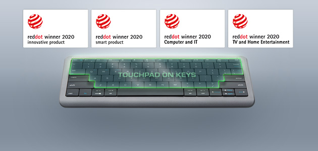 Prestigio Click&Touch received four Red Dot awards