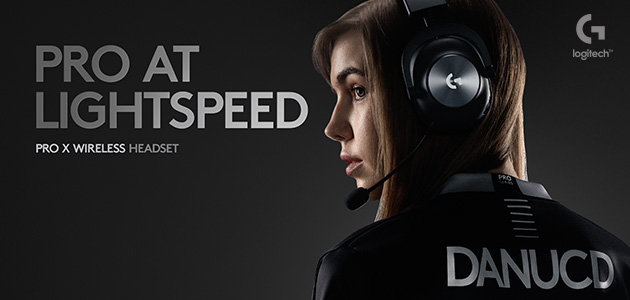 Logitech G Launches PRO X Wireless Gaming Headset