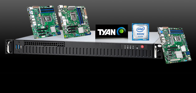 TYAN's Entry Server Platforms Add Support for New Intel® Xeon® E-2200 Processors