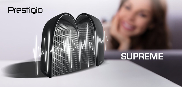 Prestigio Supreme – high-power 2-in-1 speaker