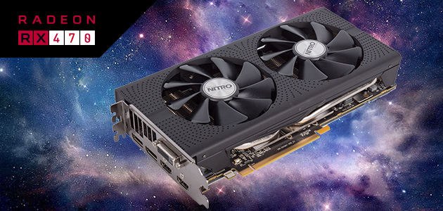 SAPPHIRE NITRO+ Radeon™ RX 470 takes the sweet spot in price and performance